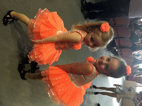 5.19_.16_Blakeley_and_Avery_striking_a_pose_